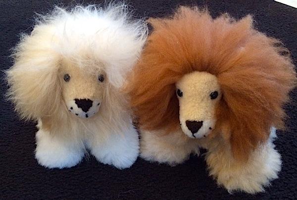 Baby Alpaca Fur Lions