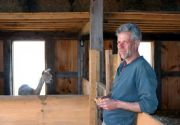 Philippe Morin, barn builder, versatile craftsman, and friend.