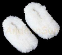 Alpaca Fur slippers Soft Baby Alpaca fur warm
