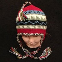Alpaca Hat, Alpaca childrens hat, alpaca hat for youth