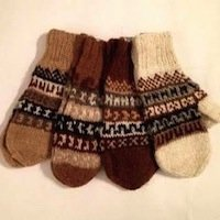 Alpaca mittens and gloves for baby toddler