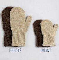 Alpaca Baby Infant Toddler Mittens