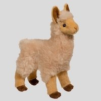 Soft Cuddly Alpaca Plush Toy