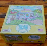 Fun Alpaca theme puzzle for children kids