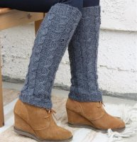 Alpaca Leg warmers knit