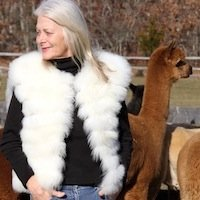 Baby Alpaca Fur Vest luxury Sale full lined