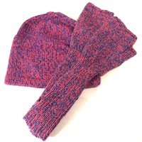 Alpaca Arm warmers wristlets, gauntlet fingerless gloves texting adult teens