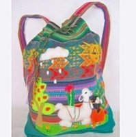 Childrens alpaca backpack