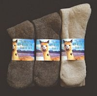 Alpaca Sock Diabetic, all natural, non restricing sock