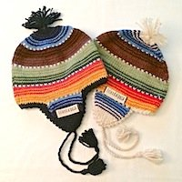 Alpaca Farm flap hat chullo ear flap hat