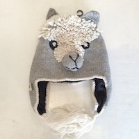 Alpaca Animal hat for children