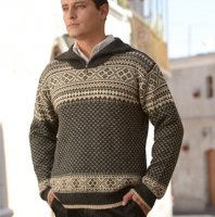 Alpaca Mens Sweater