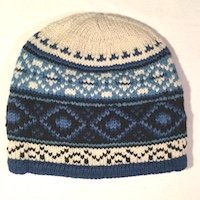 Alpaca Hat for men Lined warm winter beanie
