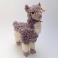 Cuddly soft alpaca plush toy