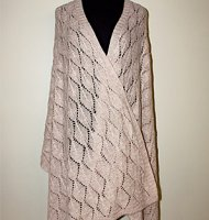Alpaca shawl wrap diamond lace baby silk suri