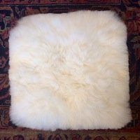 Alpaca fur pillow case cover square 11 inch