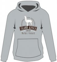 Alpaca Hooded Sweatshirt Cotton Hoodie