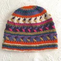 dfff57c17d0 100% Alpaca Hand Knit hat beanie