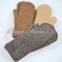 Alpaca Mittens, 100% Alpaca mittens, lined mitten, mittens for winter, mittens for men