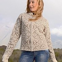 Alpaca Sweater, Alpaca Cardigan for women, zippered alpaca sweater handmade