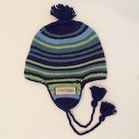 Alpaca Hat for Children, Flap hat for boys