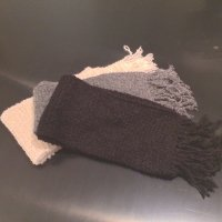 Alpaca Riccio Boucle Scarf Scaves soft luxury