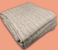 Suri Alpaca Blanket throw