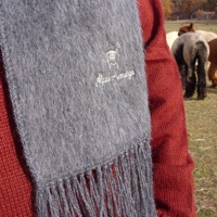 Alpaca scarf warm soft island alpaca farm martha's vineyard show clothing alpaca
