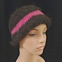 Alpaca hat Felted hat