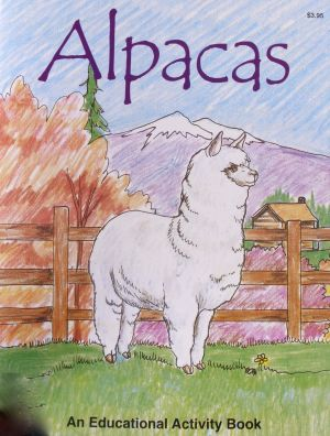 Alpaca activity book childrens toy island alpaca martha's vineyard