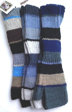 alpaca fingerless gloves
