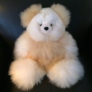 Alpaca Fur bear PAPA fur teddy bear