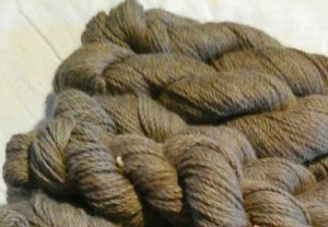 Brown-Taupe Baby Alpaca Yarn Blend