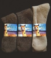 Non Restricting Alpaca Sock for Diabetics Non Binding