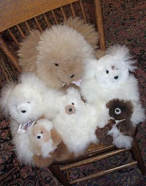 Baby Alpaca Fur Teddy Bears