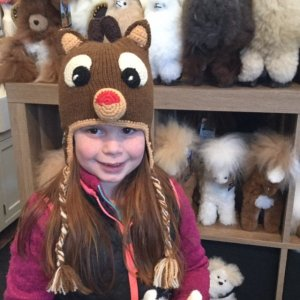 Rudolph the Red Nosed Reindeer Hat for boys hat  girls