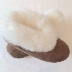 6ea53fdfa386 Island Alpaca Fur slipper baby alpaca fur