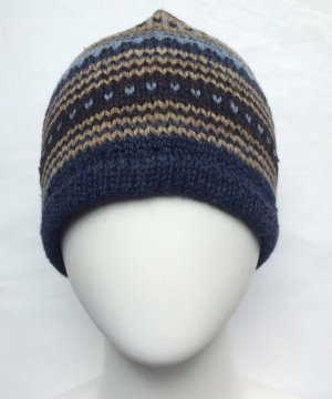 Alpaca Beanie Hat hipster slouch hat for men