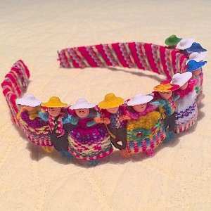 Worry Doll Alpaca headband for children