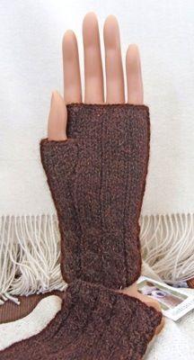 Free Knitting Pattern Cabled Wristlets - Crocheting Patterns, Knit