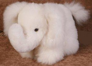 Baby Alpaca Fur Elephant